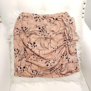 2 skirt mine ruffle pink H&M